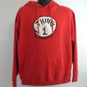 Universal Studios Thing 1 Hoodie XL CL623 0419